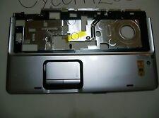 HP DV9000 PalmRest +TouchPad 448010-001 w/ribbon Good!