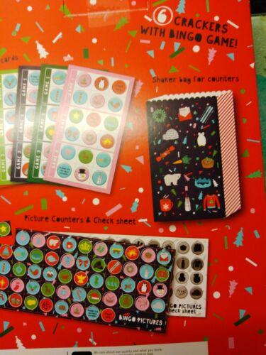 Bingo christmas  crackers