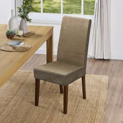 New Koo Suede Dining Chair Cover By, Dining Room Seat Covers Canada