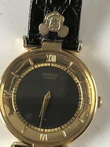 Vintage Hombres Seiko Reloj Reloj de Pulsera Bonito Disney Correa de Reloj