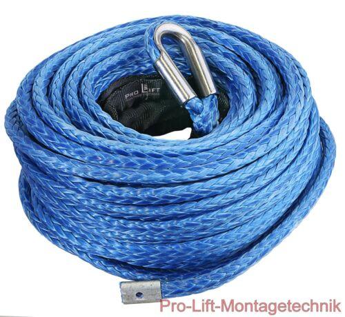 Synthetikseil Windenseil Seil Kunststoffseil Ø9mm 7200kg Länge 26m SR0910J 00239