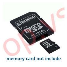 Micro SD TF adaptor card reader MicroSD upto 16gb 32gb 64gb 8gb 4gb 2gb 1gb sx