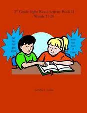 3rd Grade Sight Word Activity Book II: Words 11-20 (2014, Paperback)