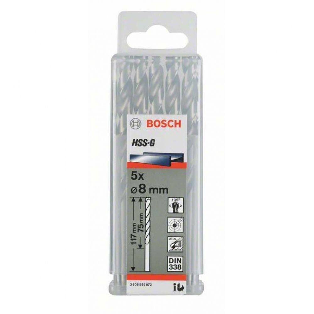 BOSCH 2608585593 Metallbohrer HSS-G,Standard,14 x 108 x 160 mm