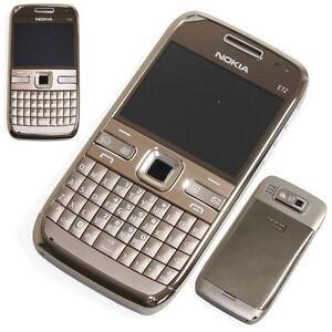 Original Nokia E72 Gold Bar Unlocked Mobile Phone 3G Wifi ...