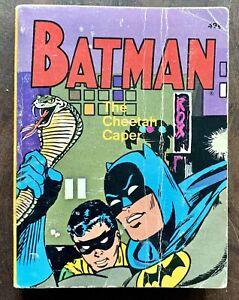 Batman-The-Cheetah-Caper-5771-Whitman-Publishing-1969-A-Big-Little-Book
