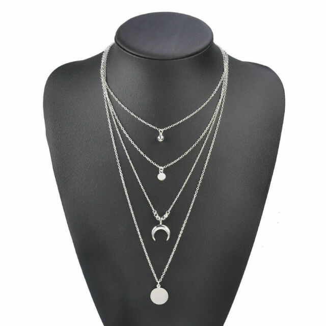 Simple Single 8mm Crystal Pendant Necklace on Silver or Gold plated chain CZ4