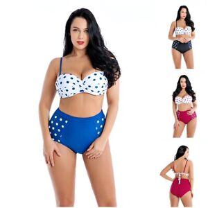 reputable site 7435e 71c37 Details zu Bikini Set Badeanzug Bademode Sport Sommer UV Sexy Oversize  Übergrösse Damen