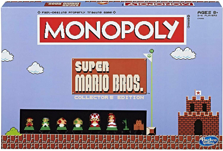 Monopoly  Super Mario Bros Collector'S Edition Board Game
