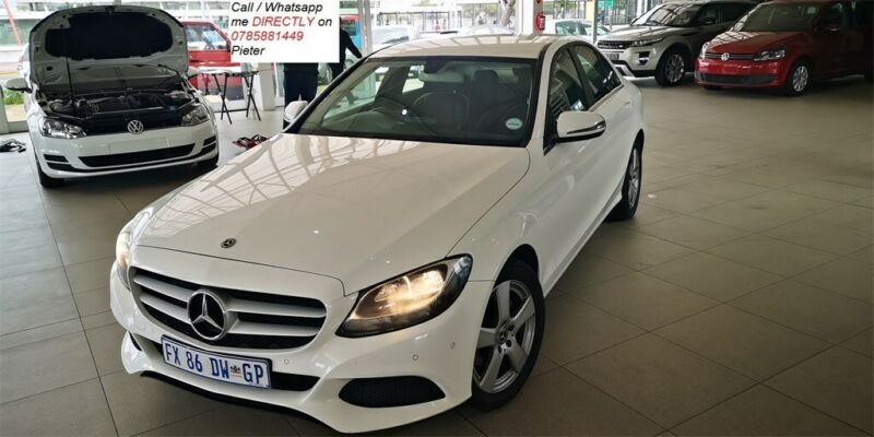 2017 Mercedes-Benz C 180 BE 7G-Tronic Plus, White with 85650km available now!