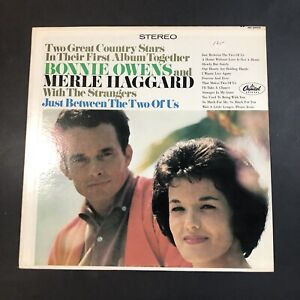Just Between The Two Of Us - Bonnie Owens And Merle Haggard 2353VG+ Vinyl LP R15