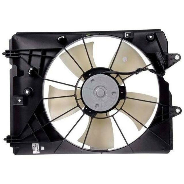 NEW RADIATOR FAN ASSEMBLY FITS 2010-2013 ACURA MDX FRONT