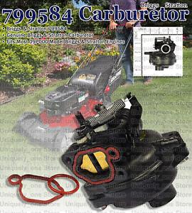 Kit De Cocheburador Motor Hp Filtro Craftsman Cocheburador Genuine Parts Briggs & Stratton