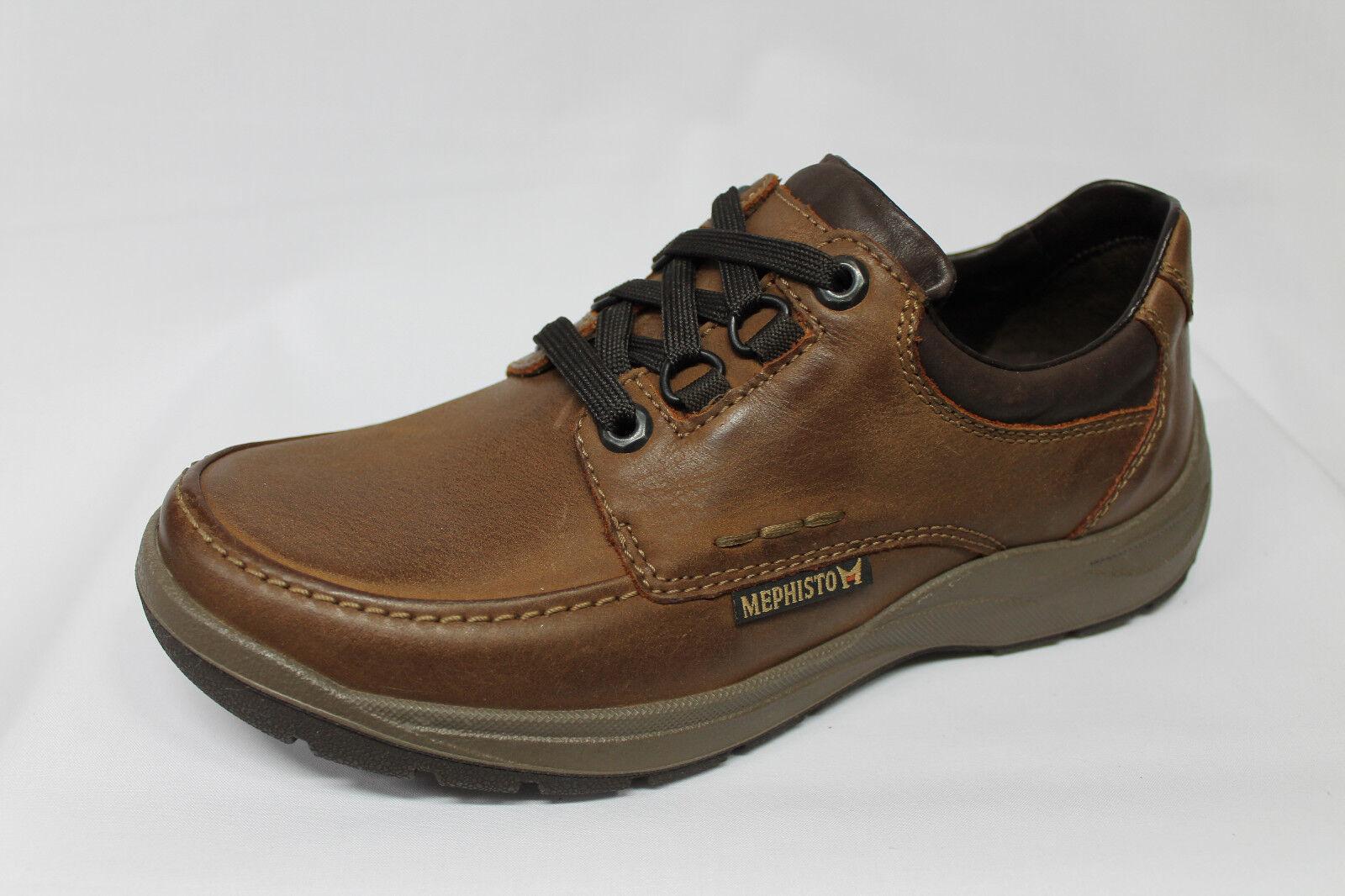 shoes Mephisto Belion pelle ingrassata cuoio listino - 20%
