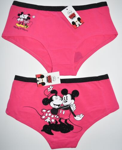 Details about  /MICKEY AND MINNIE MOUSE KNICKERS DISNEY PANTIES LADIES SIZES UK 10 to 14