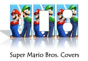 Image Is Loading Super Mario Bros Nintendo Light Switch Covers Nes