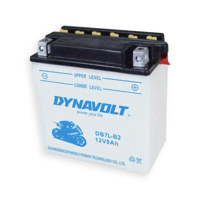 Batería Nueva Garantía Dynavolt YB7L-B2 Yamaha Maxster 150 01-03