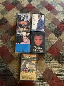 Lot of Country/ Misc. Cassette Tapes (5) George Strait/ Randy Travis
