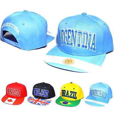National Honduras Flag Snapback Baseball Cap Hat Adjustable Snap Back Snapback
