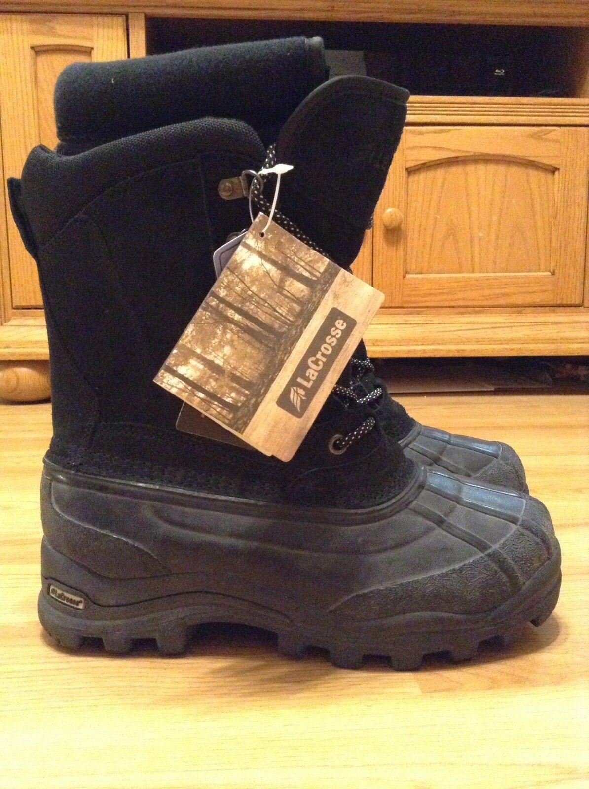 Nuevo Para hombres LaCrosse Garrison 11  400g Thinsulate Ultra botas De Nieve