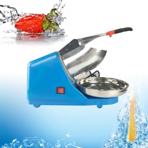 220V Electric Ice Crusher Eiswürfelmaschine Eiswürfel Eiscrusher Maschine
