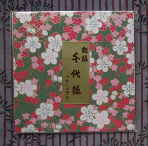 Japanese Yuzen Chiyogami washi origami paper 20 designs-scroll 2 select 12cm