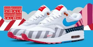 Max 8 Bnib New Air Parra 1 Tamaño Blanco Men Nike IUITf