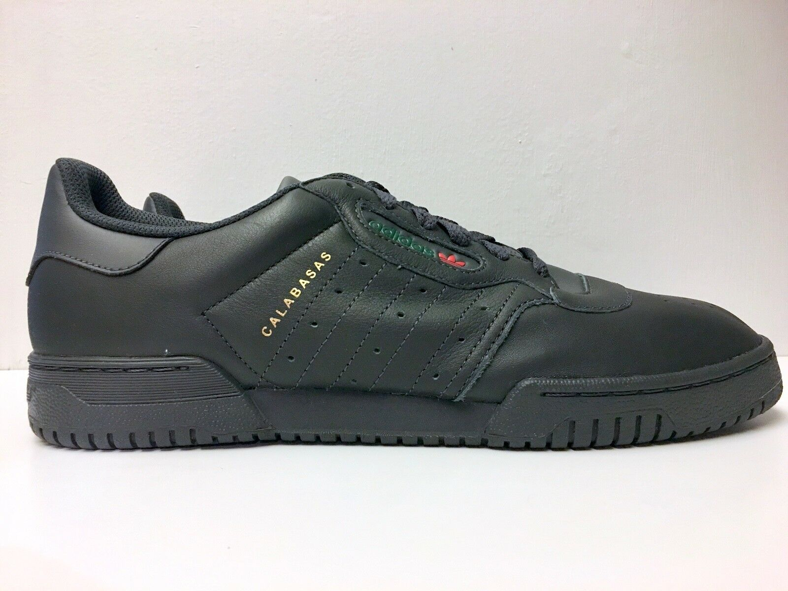 YEEZY Powerphase Core Black Size 10 Deadstock Original Box Calabasas Brand New