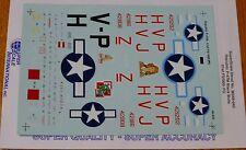 Microscale Decal 1:48 Scale #MS48-940 Republic P-47M: 61st FS/ 56th FG