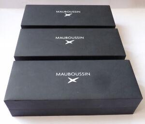3 écrins boites pour stylo MAUBOUSSIN écrin boite ugnKXpf8-09122021-383839630