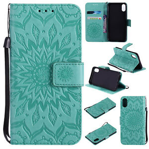 Embossed-Flip-Stand-Case-Wallet-Cover-Fr-Huawei-Honor-5C-6C-6-8-P9-P10-Lite-Mate