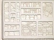 4BOT-Industries Catacomb Walls Terrain Mold W33 Dwarven Forge Hirst Arts D&D