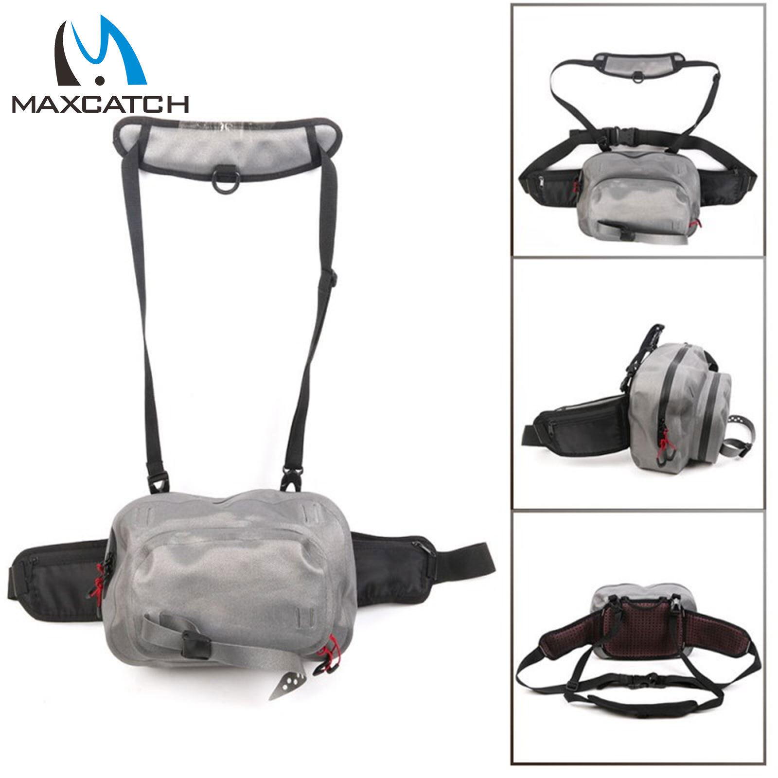Maxcatch Resistente Al Agua Bolso de la cintura  pesca con mosca pesca bolsas Ultra-durable  promocionales de incentivo