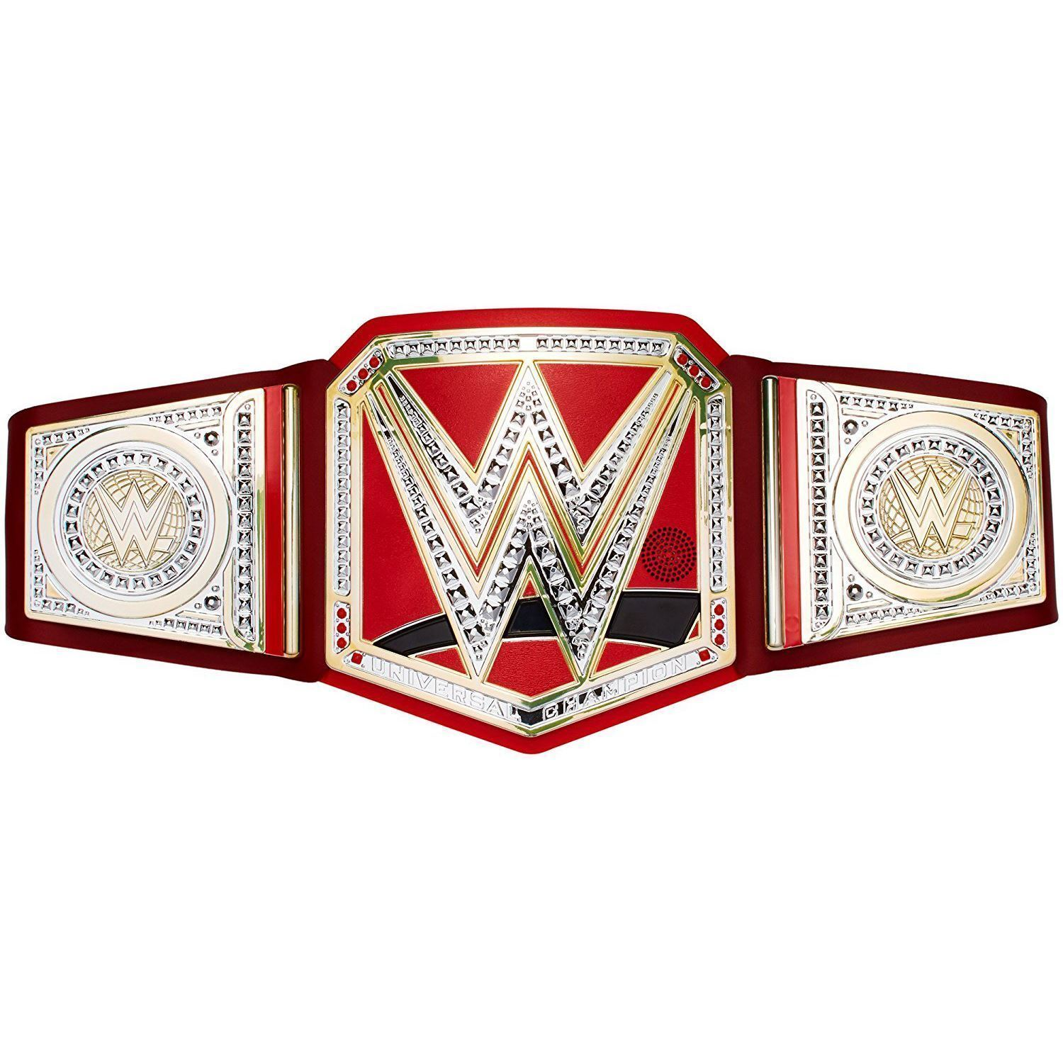 WWE MOTION ACTIVATED UNIVERSAL CHAMPIONSHIP BELT NEW