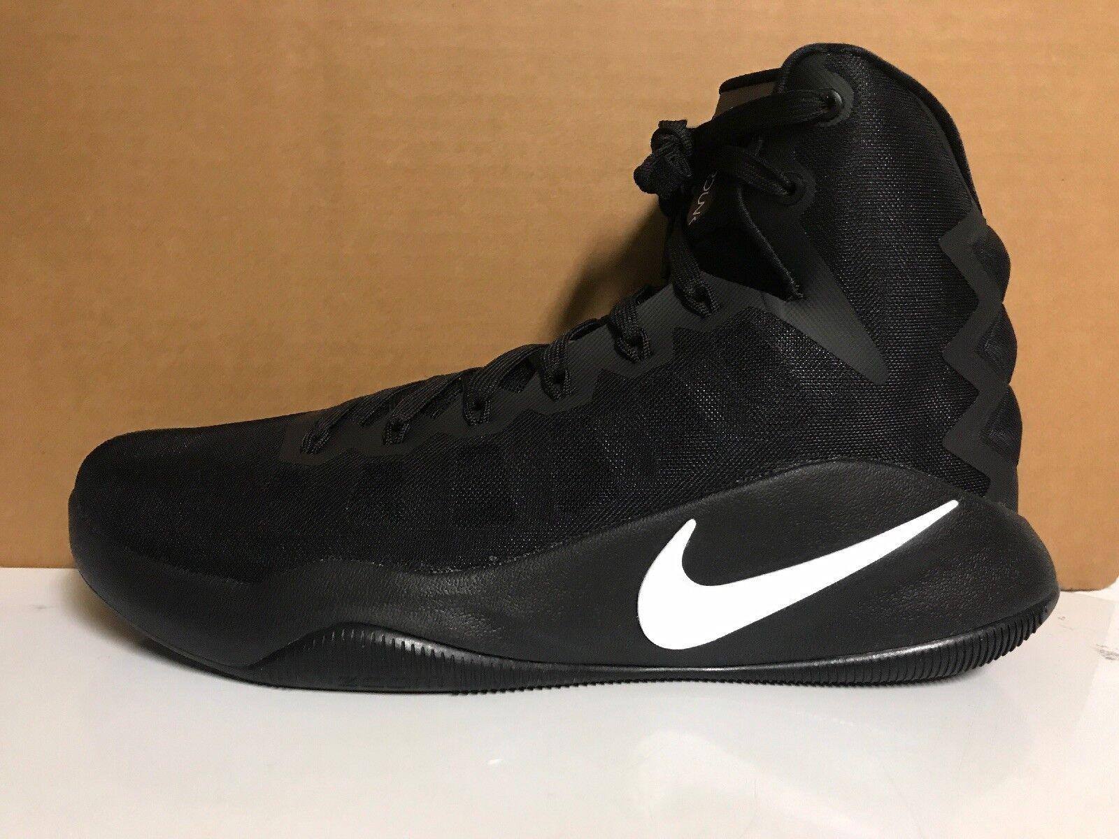 Brand New! Men's 10.5 Nike Hyperdunk 2016 Basketball Shoes 844359-010 Black
