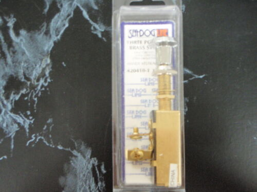 SWITCH NAV//ANCHOR 3 POSITION OFF//ON//ON BRASS SEADOG 4204101 BOAT PARTS BOATING