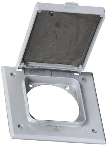 "2-Gang Weatherproof Device Cover 30 50 60 Amp Receptacle 2.64/"" Diameter Vertical"