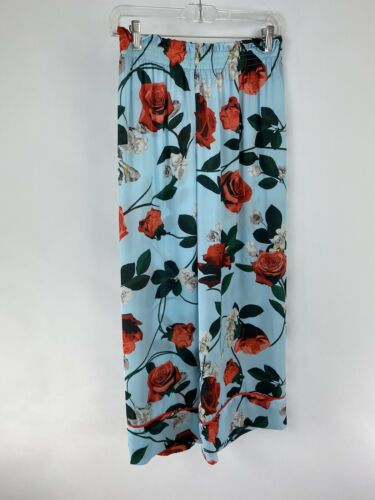 ALICE AND OLIVIA Floral Silk Pants Size S