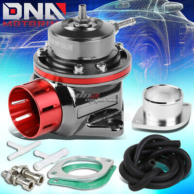 DNA Motoring PT-ZTL-8012-RD Blow-Off valve-BOV Red