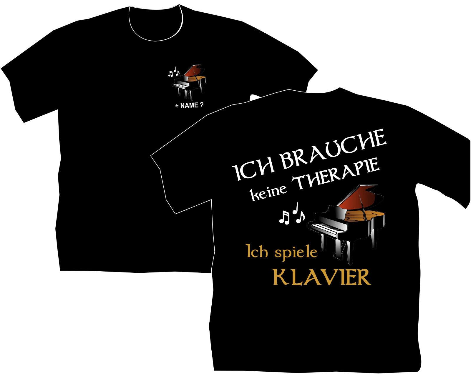 T-Shirt Poloshirt Klavierlehrer Polohemden Klavierunterricht Klavier Spielen 2