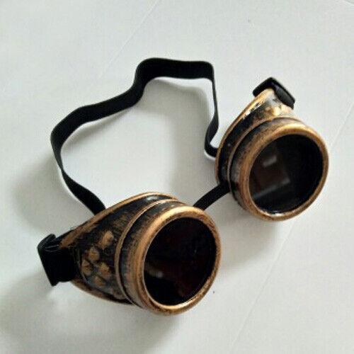 Cosplay Schweisserbrille Steampunk Schweiß Punk Brille Schutzbrille Party 1 X