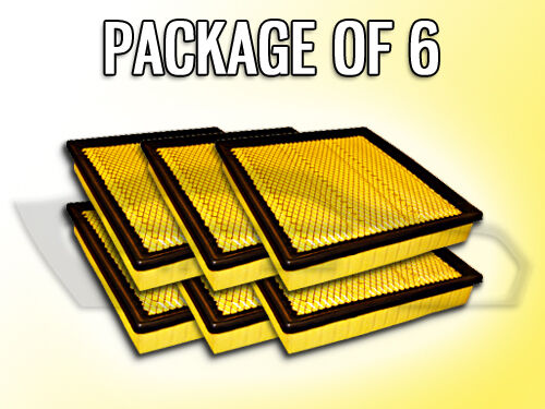 REPLACES 53032700AA AIR FILTER AF5512 FOR DODGE RAM 2500 3500 CASE OF 6