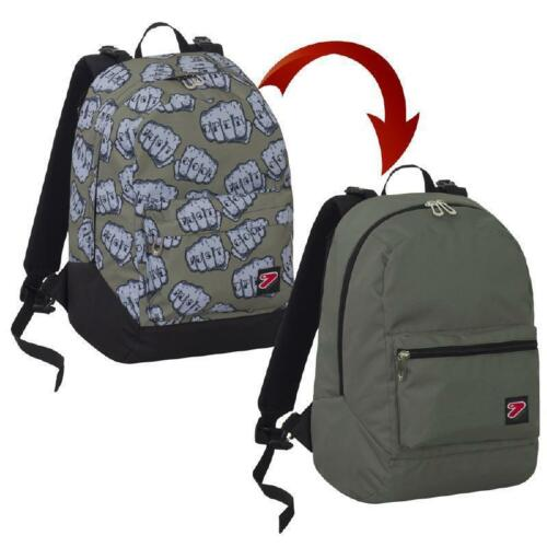 ZAINO SCUOLA SEVEN REVERSIBILE THE DOUBLE KNOCK //CUFFIE