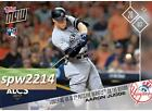 Aaron Judge 2017 Topps Now #801 Towering HR in 7th Puts The Yankees On The Board