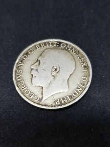 1921-British-Silver-One-Florin-Coin-George-V