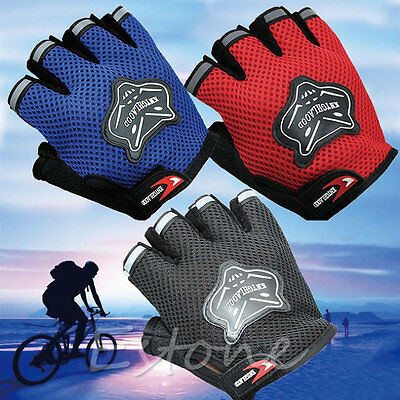Men Cycling Exercise Weight Lifting Fitness Anti Slip Training Sport GYM Gloves
