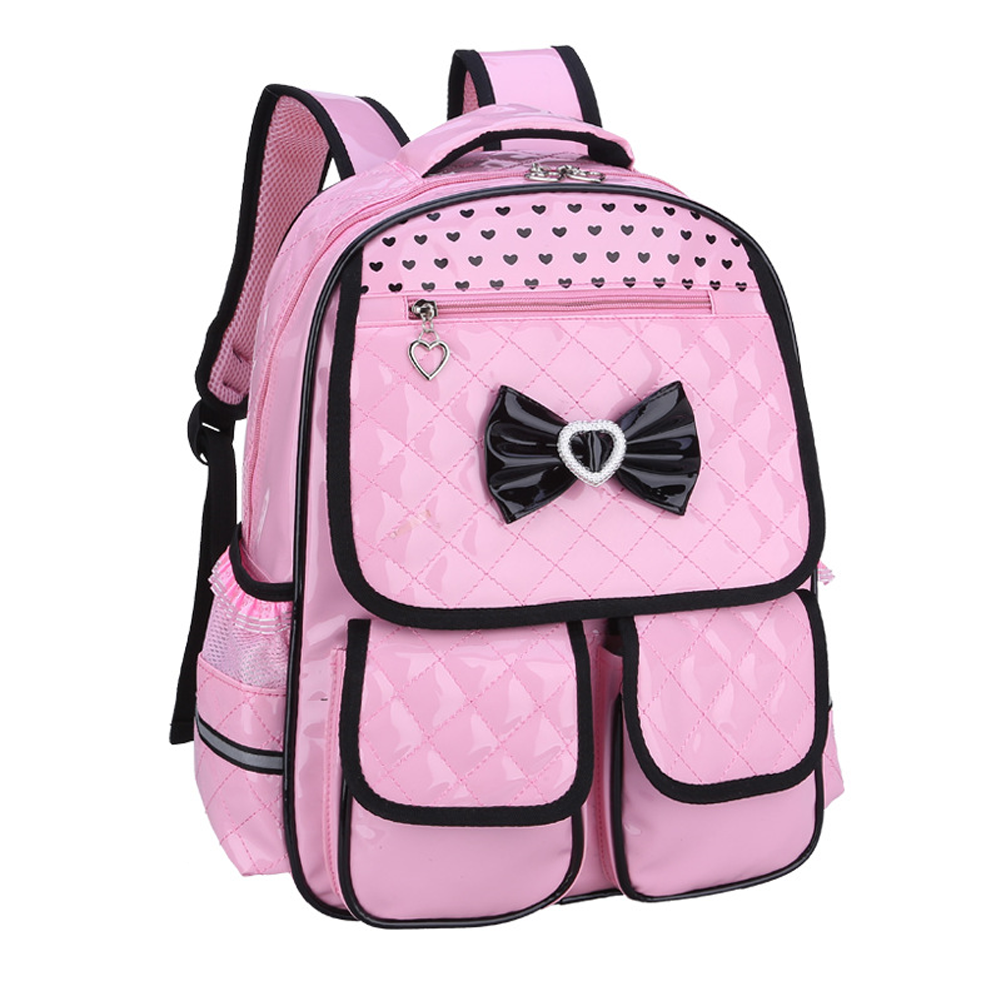 a139b9f6c0 Details about Kids Waterproof Schoolbag 4 Colors Backpacks For Girls Cute  School Bags