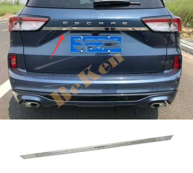 For Ford Escape / Kuga 2020 2021 Stainless Rear Central ...
