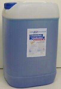 25L Liter -60° Konzentrat Scheibenfrostschutz Scheibenreiniger Werkstattqualität