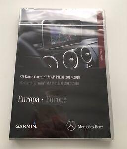 garmin map pilot sd karte v 9 0 2017 2018 mercedes audio. Black Bedroom Furniture Sets. Home Design Ideas